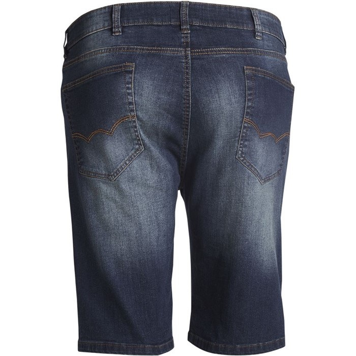 Replika Jeans denim shorts, blue washed