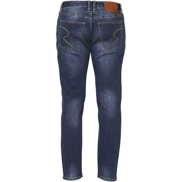 Replika Jeans stretch JOHN L34, blue used wash