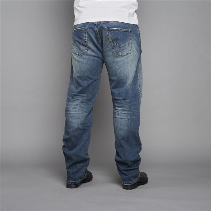 Replika Vintage Denim stretch RINGO L30, blue used wash