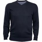 North 56°4 Pullover met V-hals, navy blauw