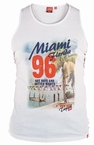 Tank top 'MIAMI Florida', wit