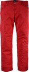North 56°4 5 pocket jeans, rood