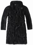 North 56°4 Zware kwaliteit badjas, zwart