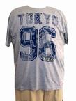 Kitaro t-shirt 'Tokyo 96', grijs melée