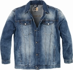 Replika Denim Jack m. stretch, denim blauw
