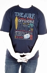 T-shirt 'The Surf Offshore', navy