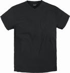 North 56°4  US t-shirt V-hals+borstzak, zwart