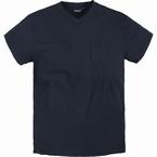 North 56°4  US t-shirt V-hals+borstzak, navy