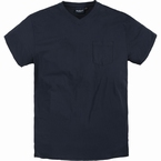 North 56°4  US t-shirt V-hals+borstzak, navy