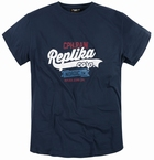 Replika  US t-shirt 'Replika Corp', navy