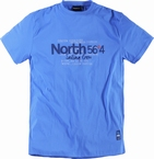 T-shirt 'North 56°4', blauw