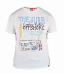 T-shirt 'The Surf Offshore', wit