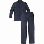 Pyjama set jasje met lange broek, donker geruit