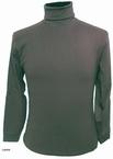 Kitaro t-shirt lange mouw met col, grijs