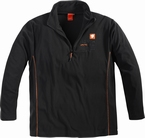 North 56°4 Sport Fleece thermo sweater, zwart