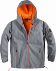 North 56°4 Sport Ski Softshell jack, grijs