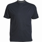 US T-shirt, effen navy blauw