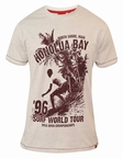 T-shirt 'Surf World Tour Honolua Bay', wit melée