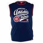 Tank top 'Athletic Vintage Sports', navy