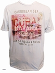 Kitaro t-shirt 'Greetings from Havana', wit