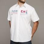 North 56°4 shirt KM 'North Pro Series', wit