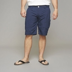 North 56°4 shorts m. zijdelings ritszakje, navy