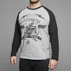 Replika lange mouw t-shirt 'Aerosmith', grijs
