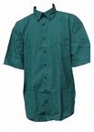 GCM Zomers overhemd korte mouw, aqua groen
