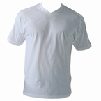 MAVERICK 2-pack t-shirts met V-hals, wit