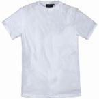 US T-shirts 2-pack, effen wit (2 stuks)