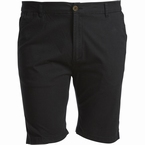 North 56°4 Chino shorts m. stretch, zwart
