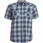 North 56°4 shirt KM geblokt, navy