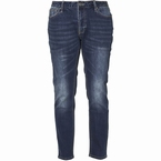 Replika Jeans stretch JOHN L32, blue used wash