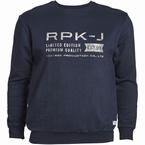 Replika Crew neck sweater RPK-J, navy