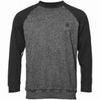 North 56°4 Sport sportieve sweater, grijs-zwart