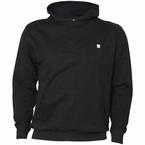 Replika Hooded sweater, effen zwart