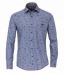 Casa Moda Comfort Fit overhemd lange mouw, Canada blauw