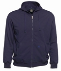 Ahorn sportief vest met capuchon, navy