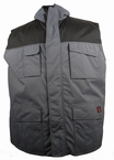 Bodywarmer 2-in-1 Worker, antraciet