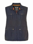 Canson multi-pocket bodywarmer, navy