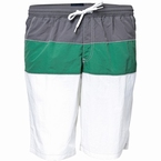 North 56°4 Zwemshorts 3-color, grijs/groen/wit