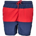 North 56°4 Zwemshorts 2-color, rood/navy