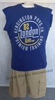 Redfield tanktop 'London 82', navy blauw