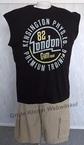 Redfield tanktop 'London 82', zwart