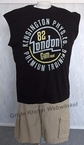 Redfield tanktop 'London 82', zwart