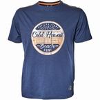 Replika t-shirt 'Beach Surf', navy blue