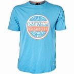 Replika t-shirt 'Beach Surf', turquoise