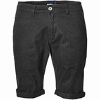 North 56°4 Chino shorts met stretch, zwart