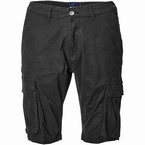 North 56°4 Cargo shorts met stretch, zwart