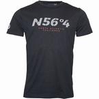 North 56°4 T-shirt 'North Atlantic Challenge', zwart